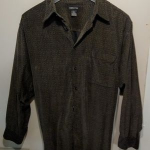 Men's vintage Claiborne long sleeve shirt XL
